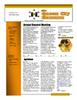 RDBC Newsletter – 2012 Winter